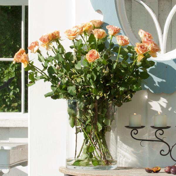 Zylinder / Windlicht / Vase Glas (mit Boden 14038)