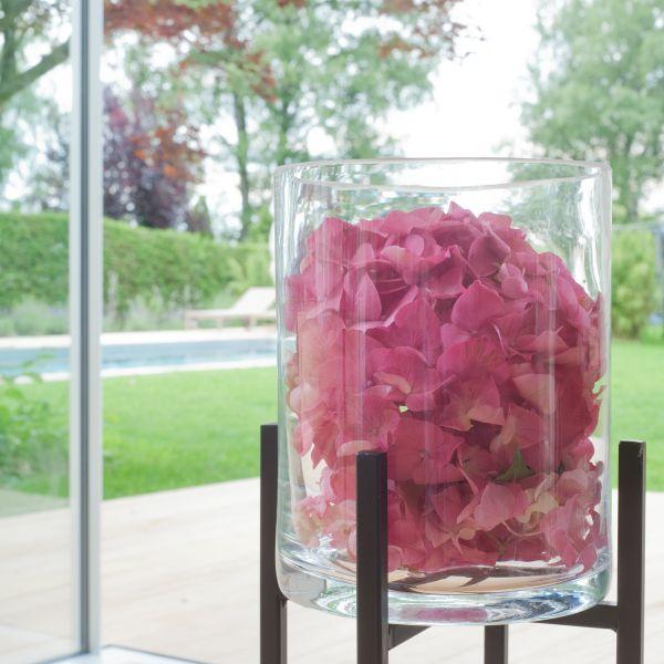 Zylinder / Windlicht / Vase Glas (mit Boden 14045)