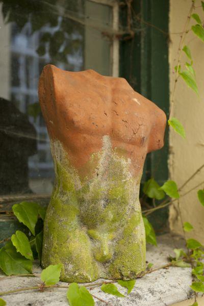 Büste Herakles, grün-antik