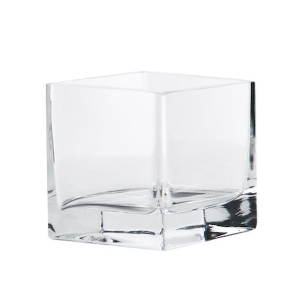 Quadrat / Windlicht / Vase Glas (mit Boden 14048)