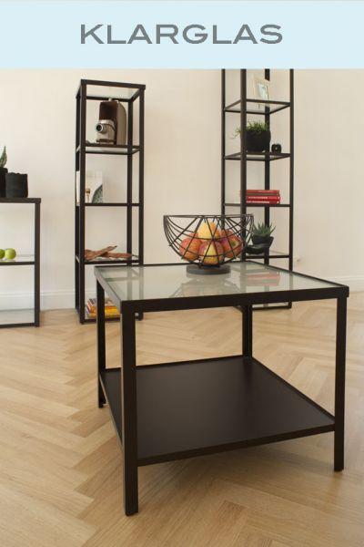 Tisch Vincent, Glaseinlage klar