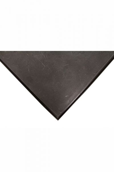 Platte Stein,schwarz/poliert, 50 x 50 cm