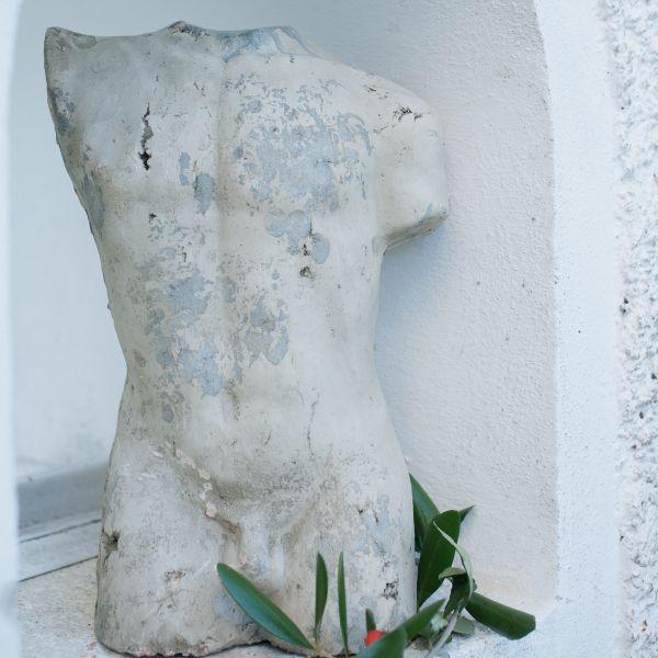 Büste Aphrodite, weiss