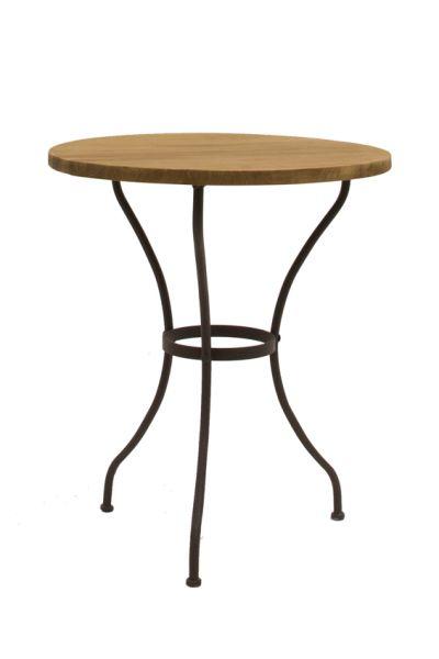 Tisch Lisa mit Teakauflage