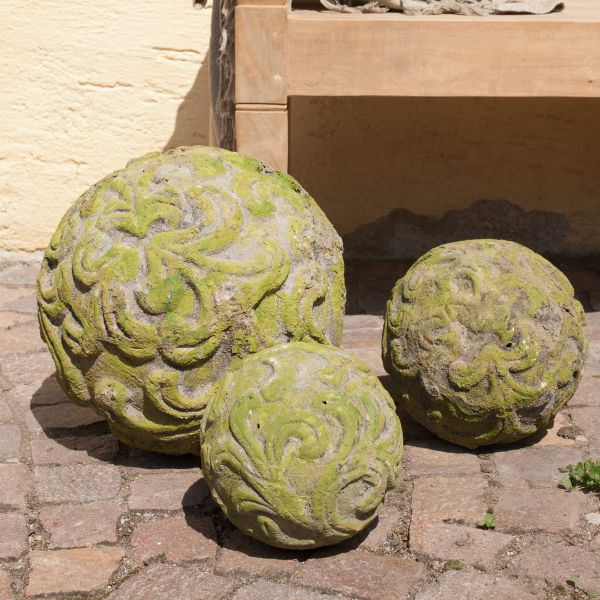 Kugel Parma, grün-antik