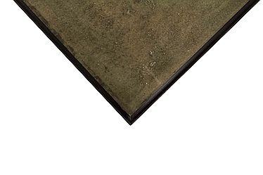 Platte Stein, antik-finish, 38 x 38 cm