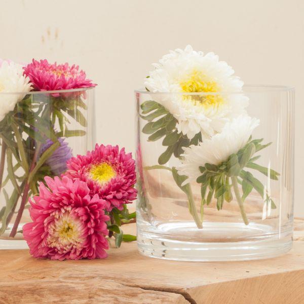 Zylinder / Windlicht / Vase Glas (mit Boden 14041)