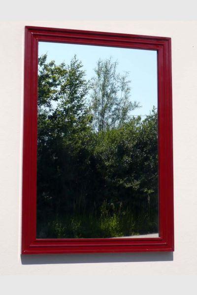 Spiegel Riga rosso