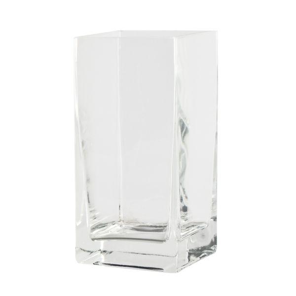 Quadrat / Windlicht / Vase Glas (mit Boden 14058)