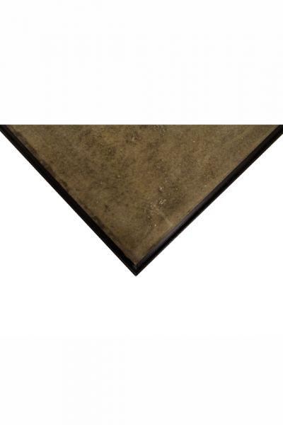Platte Stein, antik-finish, 80 x 80 cm, Viertel