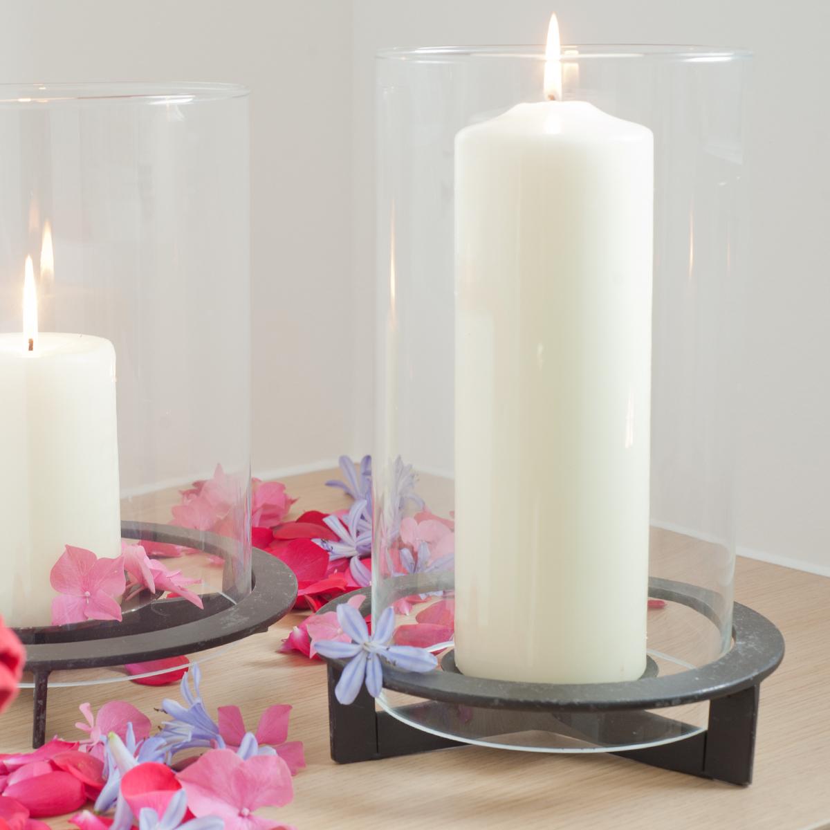windlicht nobel laterne deko glas metall tischlicht kerzenhalter eisen neu ebay. Black Bedroom Furniture Sets. Home Design Ideas