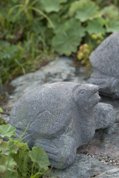 Schildkröte Lavastein